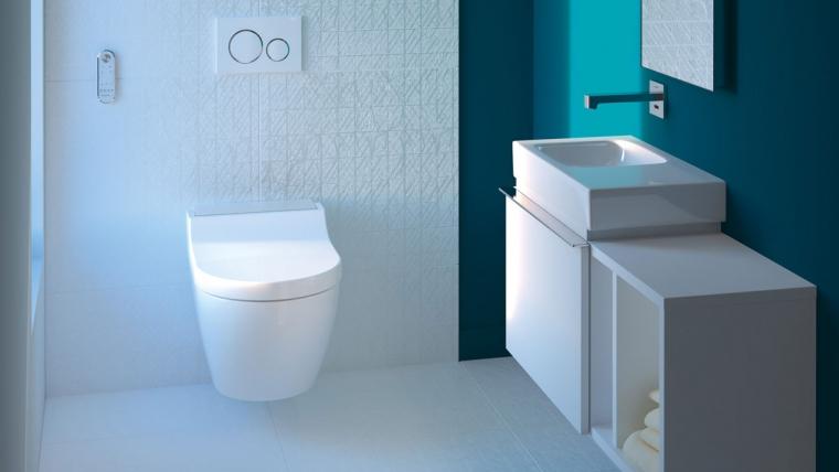 Wasch WC's von Geberit